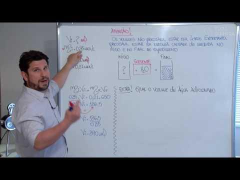 Видео Diluiçao de soluçao de sulfato de cobreII