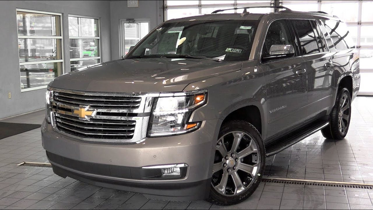 2017 Chevrolet Suburban Configurations >> 2017 Chevrolet Suburban: Review - YouTube