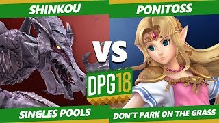 Smash Ultimate Tournament - Shinkou (Ridley) Vs. Ponitoss (Zelda, Sheik) DPOTG18 SSBU Pools