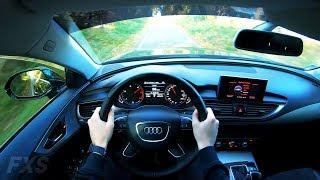 Audi A7 Sportback (2012) - 4K POV Test Drive