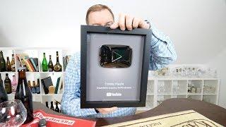 Srebrny przycisk YouTube i Westvleteren Extra