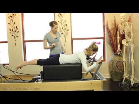 The Pilates Dork: Swan on Reformer