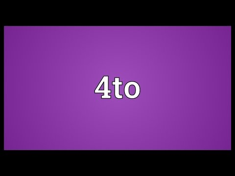 4to Meaning