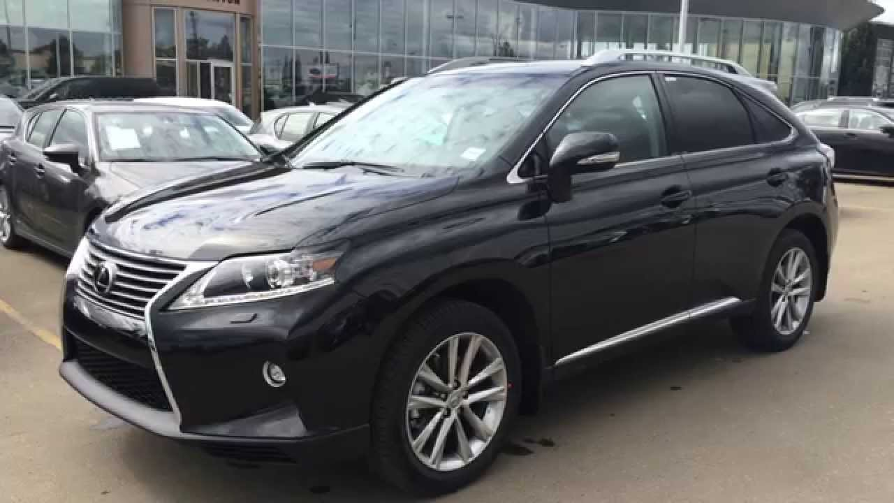 2015 lexus rx 350 awd sportdesign edition review black on saddle tan northwest edmonton. Black Bedroom Furniture Sets. Home Design Ideas
