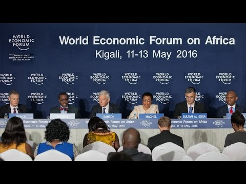 Africa 2016 - Press Conference with the Co Chairs of the World Economic Forum
