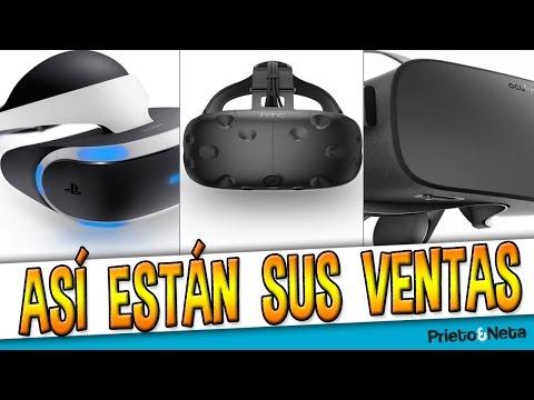 ASÍ ESTÁN SUS PREVISIONES DE VENTAS | REALIDAD VIRTUAL : PS VR, HTC VIVE, OCULUS ETC...