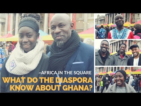 What do the Diaspora know about Ghana?