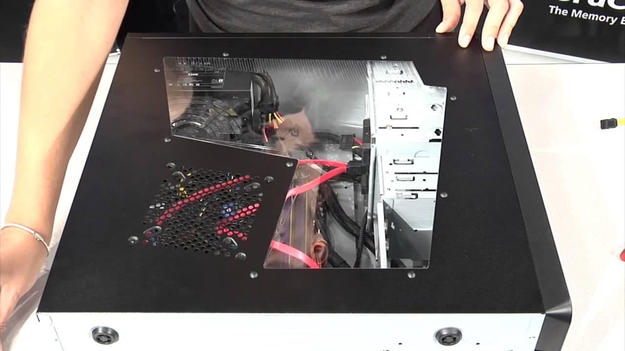 Installing An Ssd In A Desktop Youtube Samsung 750 Evo Sata3 500gb 25ampquot