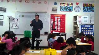 Grade 2, Science Lesson, Ernesto Cardoza 5