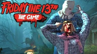 Friday The 13th The Game - Beta Gameplay - NEW KILLER GAMEPLAY LIVESTREAM (Friday The 13  Gameplay)