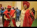 King Sunny Ade &His Beautiful Wife Majestic Entrance As They Dance In For Their Daughter Engagement