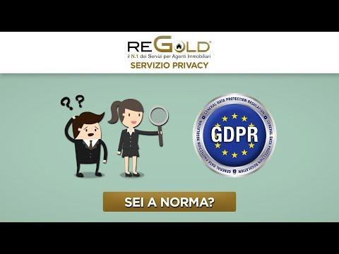 Regold Privacy Gdpr
