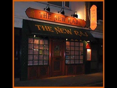 New Raj Indian Restaurant, St Helier, Jersey, Channel Islands
