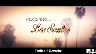 GTA 5 Welcome to Los Santos Trailer REMADE IN GTA Editor! (GTA 5  Rockstar Editor)