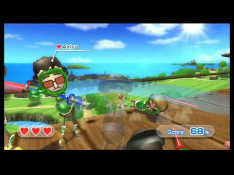 Showdown with Lightsabers Sounds Wii Sports Resort