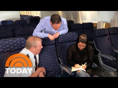 Rossen Report: Why You Should Write Your Name Backwards When Turbulence Hits Your Plane | TODAY