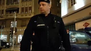 Rezist. Timisoara. Jandarmeria face instructajul
