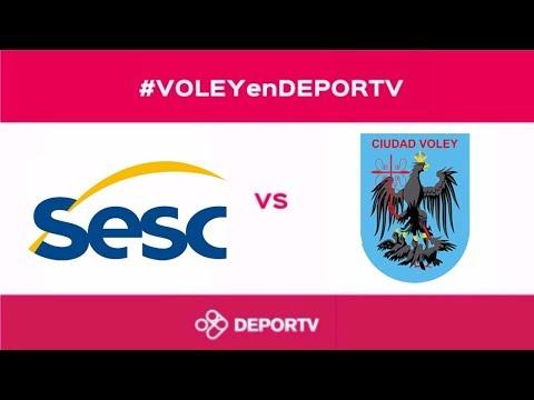 #VOLEYenDEPORTV - SESC Rio vs Ciudad - Copa Ciudad de Bolívar - 3er Puesto