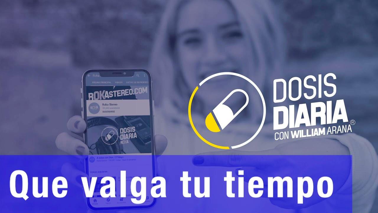 Download Dosis Diaria Roka - Que valga tu tiempo