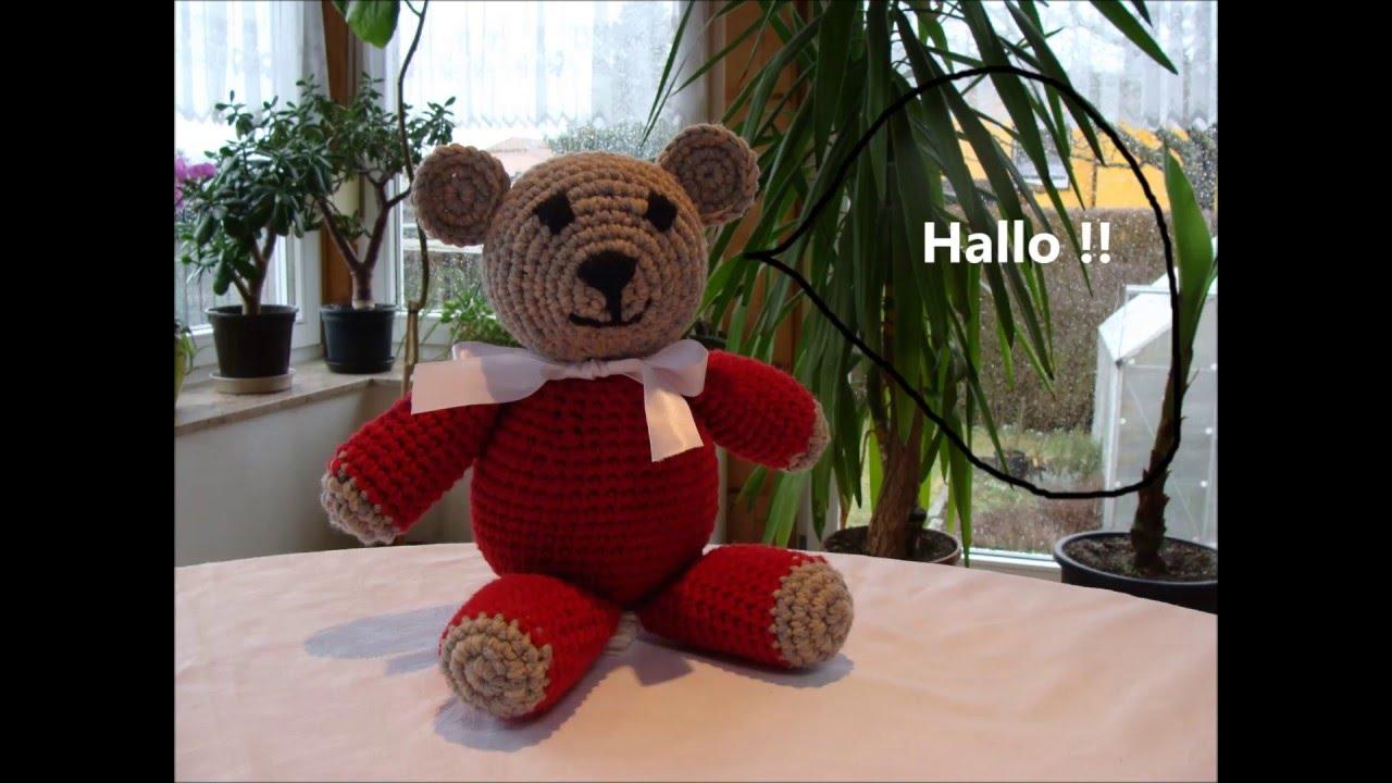 Teddy Fred Grüßt Julebuergerfee Häkeln Stricken Basteln Mehr