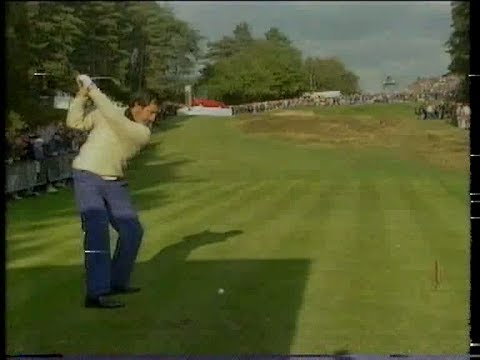 Seve Ballesteros v Billy Andrade. Semi Final World Match Play 1991