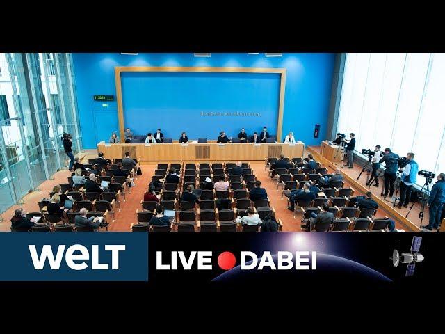 KAMPF GEGEN CORONA: Bundesregierung informiert über aktuelle Covid-19-Lage