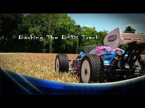 Radion Control - Video 6 - HSP Planet - Bashing the BMX Track