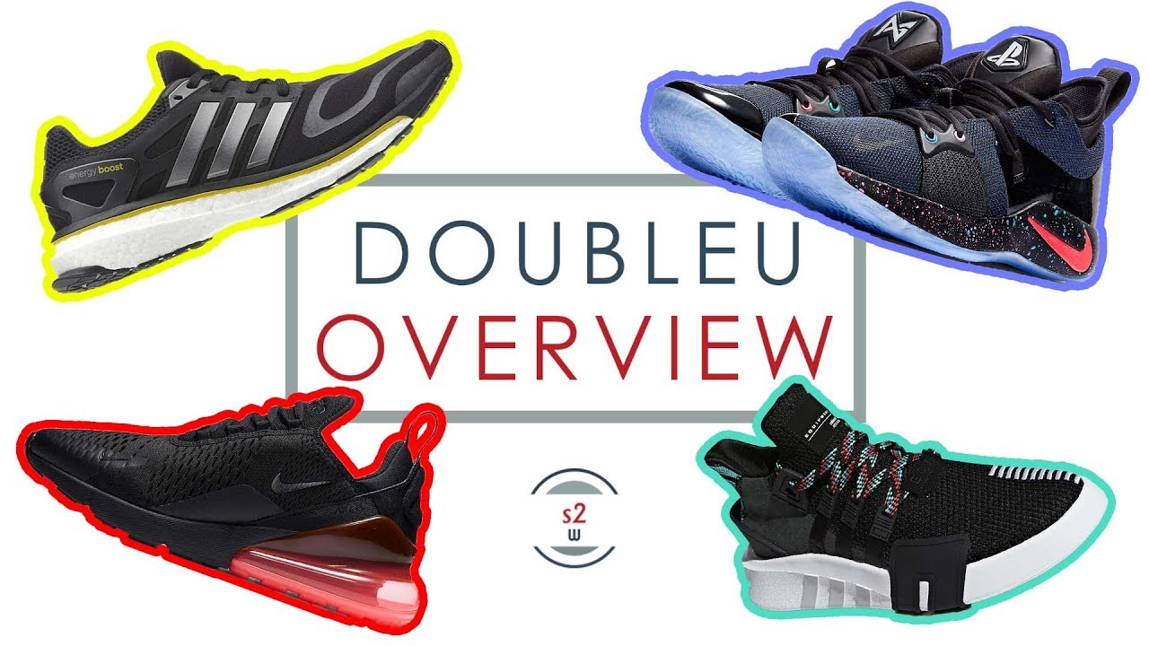 DoubleU Overview || Notable Sneaker Releases of February 1-10, 2018