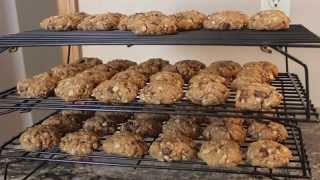 Wendy Bakes Gluten-free Oatmeal Chocolate Chip Cookies