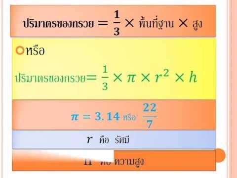 สื่อการเรียนวิชาคณิตศาสตร์ม3