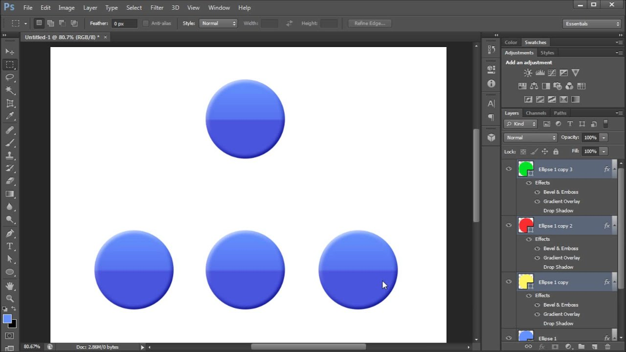 How to cut and paste in photoshop 97