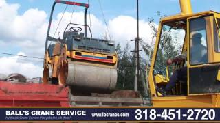 Ball's Crane Service | Billboard Signs, Hydraulic Trucks, Heavy Equipment Lifting | Alexandria, LA
