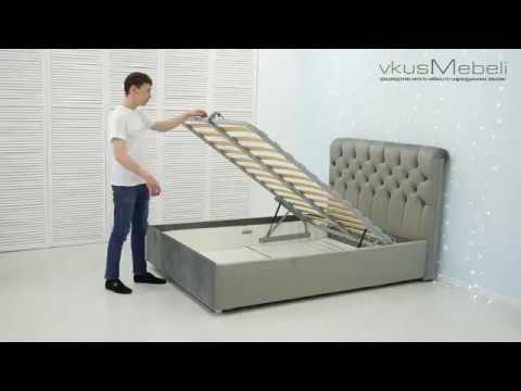 Как правильно собрать кровать с подъемным механизмом видео