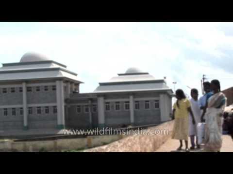 Kamaraj Memorial at Kanyakumar