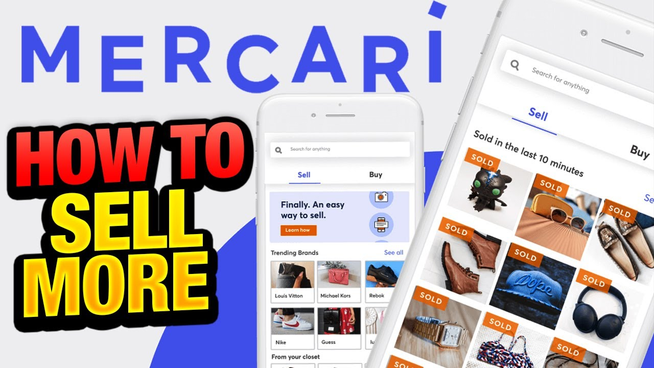 5 Mercari Tips that will help you sell more & make more money.