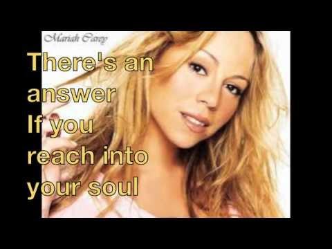 Mariah Carey Hero with Lyrics