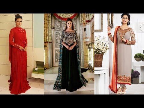 d8ba9b8536 Divyanka Tripathi (Ishita) Designer Dress Collection - YouTube