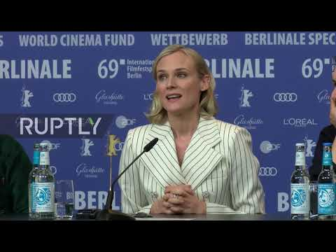 Germany: Diane Kruger And Martin Freeman Take Part In 'The Operative' Q&A