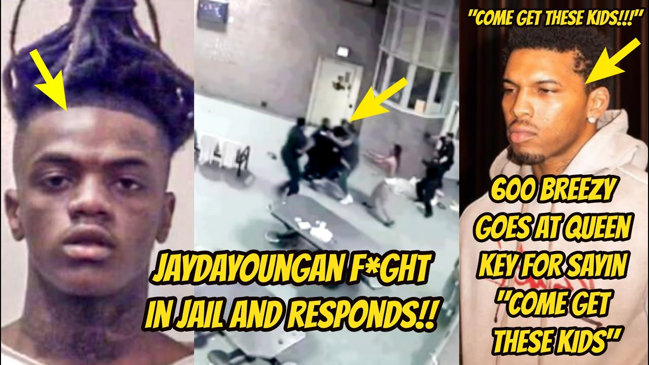 """Jaydayoungan FlGHT IN JAIL! 600 Breezy GETS AT Queen Key For Sayin """"C0ME GET YOUR KIDS!!"""" + Dolph"""