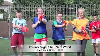 Parents Night Out, Nerf Wars at Cosens Martial Arts!