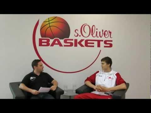 s.Oliver Baskets Interview Maxi Kleber September 2011