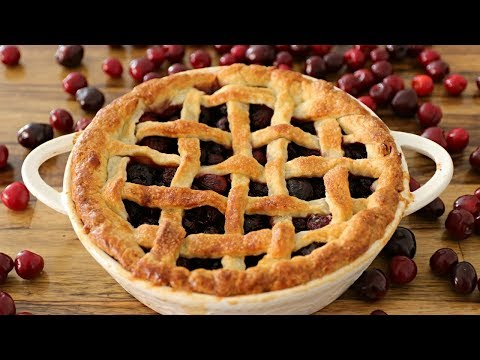 Cherry Pie Recipe | How To Make Cherry Pie