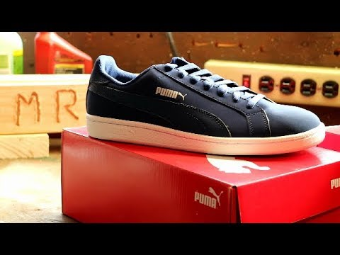 1f84fd167e96fd Puma Smash Buck Sneakers Unboxing and Review Smash I   Smash II ...