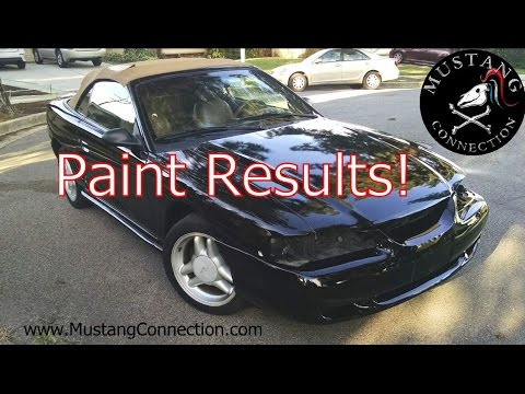 Results! Maaco paint job BARGAIN PAINT 1995 Ford Mustang GT Refresh Part 8