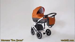 Обзор кожаной детской коляски Noordline Stephania 2в1