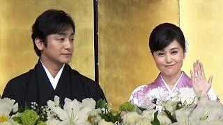 3月30日に婚姻届を提出し、結婚した歌舞伎俳優の片岡愛之助さん(4...