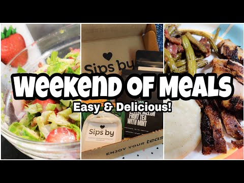 Weekend Of Meals | Budget Meal Ideas | Quick & Easy Meals!