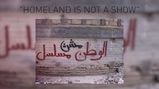 """""""Homeland is racist"""" graffiti airs on show"""