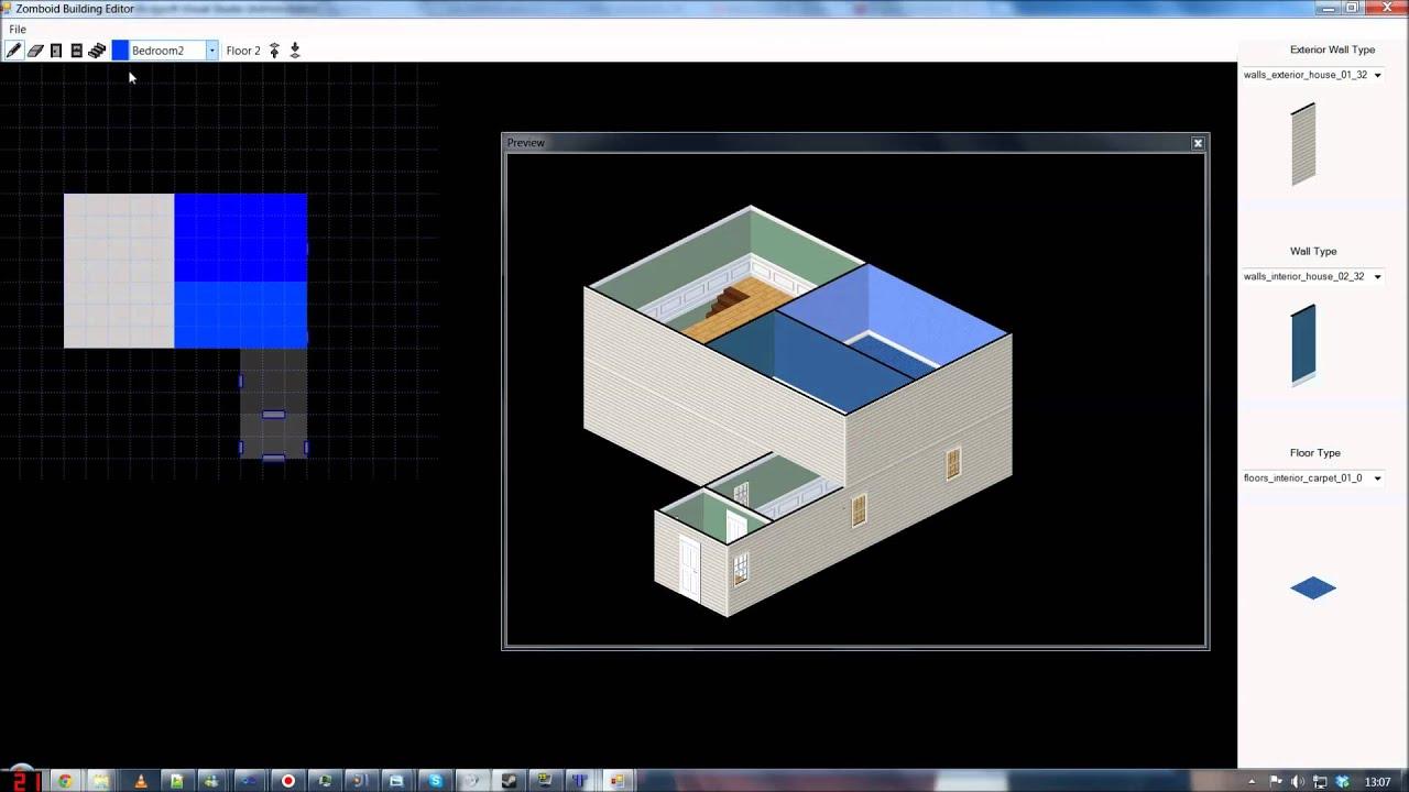 Zomboid Building Editor