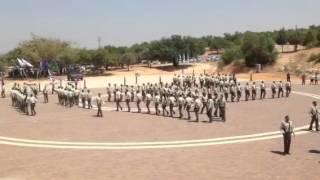 טקס סיום קורס מכים מגב יוני 2013